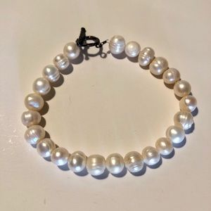 Jewelry - VINTAGE AUTHENTIC PEARL BRACELET STERLING CLASP